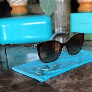 AUTH Tiffany & Co. Sunglasses EXCELLENT CONDITION